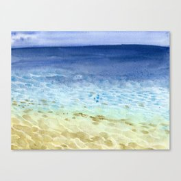 I look at the sea and I dream Canvas Print