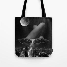 strip down Tote Bag