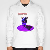 cows Hoodies featuring Psychedelic Cows by Peter Gross