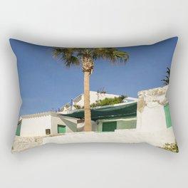 A holiday look Rectangular Pillow