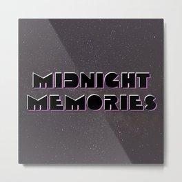 Midnight Memories Metal Print