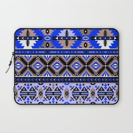 Boho Navajo Geometric Pattern Var. 2 Laptop Sleeve