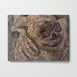 Native Mythology Creepy Ghost Walkers Metal Print
