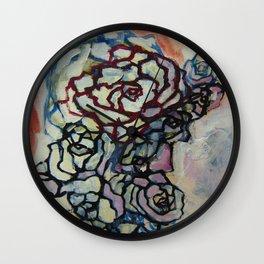 Rose 4424 Wall Clock
