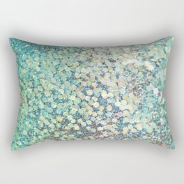 Mermaid Scales Rectangular Pillow