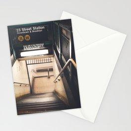 New York City Subway Stationery Cards