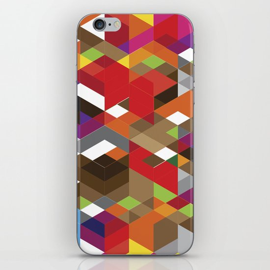 Life like a Geometry iPhone & iPod Skin