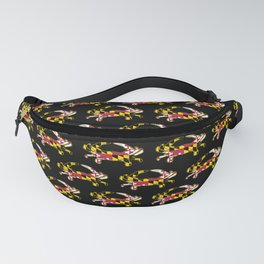 Maryland Flag Crab Fanny Pack