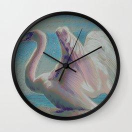 Swan III Wall Clock