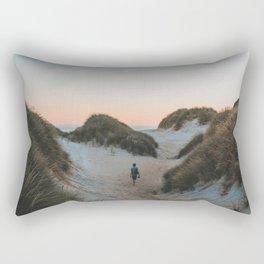 The Sand Dunes (Color) Rectangular Pillow