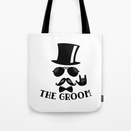 The Groom Tote Bag