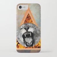 leon iPhone & iPod Cases featuring leon by blueart