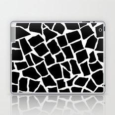 Mosaic Zoom Black and White Laptop & iPad Skin