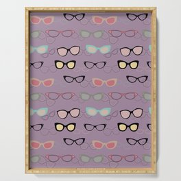 1950's Specs on Lilac Serving Tray