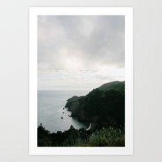 San Francisco Coast // California Art Print