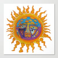 sublime Canvas Prints featuring Sublime  by Sammy Cee