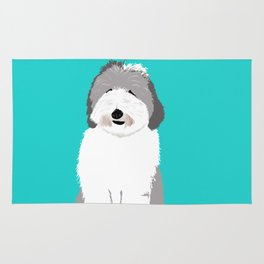 Lucy The Sheepadoodle Rug