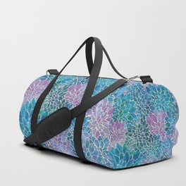 Floral Abstract 33 Duffle Bag