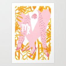 Virgo Horoscope Art Print