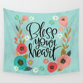 Pretty Not-So-Swe*ry: Bless Your Heart Wall Tapestry