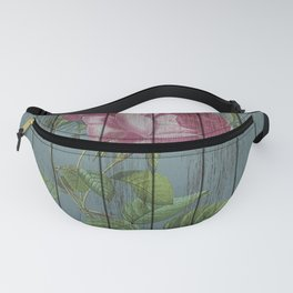 Chabby chic rose Fanny Pack