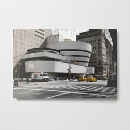 Guggenheim | Frank Gehry | architect Metal Print