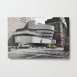 Guggenheim | Frank Gehry | architect Metal Print