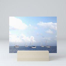 Sailboats | San Blas Panama Mini Art Print
