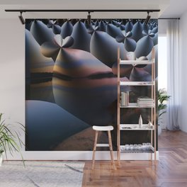 Landscape Creatures Wall Mural