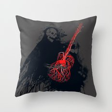Playing With My Heart Throw Pillow