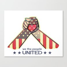 United Hands Canvas Print