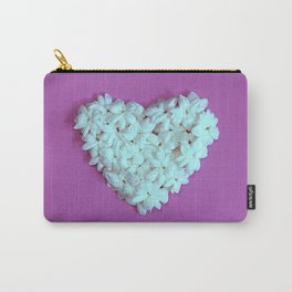 Heart on Lilac Carry-All Pouch