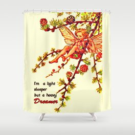 Heavy dreamer Shower Curtain