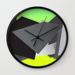 Spacejunk Wall Clock