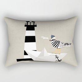 Fisher seagull Rectangular Pillow