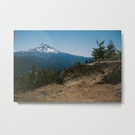 Mt. Hood from Lost Lake Butte Hike Metal Print