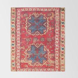 Bergama Northwest Anatolian Rug Throw Blanket