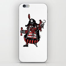 The Captain Pirate inspired by Captain Pugwash iPhone & iPod Skin