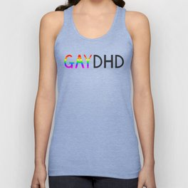 Gay & ADHD Unisex Tank Top