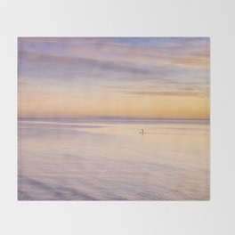 Sunset Paddle Throw Blanket