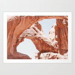 Desert Arches Art Print