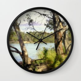 Australian Native Flora Wall Clock