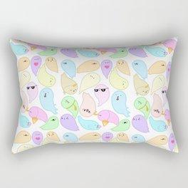 Iddy Biddy Meme Ghosts Rectangular Pillow