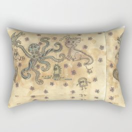 Silly Octopus Rectangular Pillow