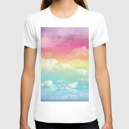 Clouds in a Rainbow Unicorn Sky T-shirt