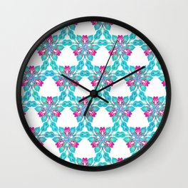 Rayguns Make A Neat Pattern Wall Clock