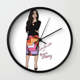 Lana Parrilla as Angie Ordonez (Spin City TV Show) Wall Clock