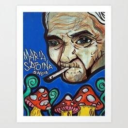 Maria Sabina Art Print