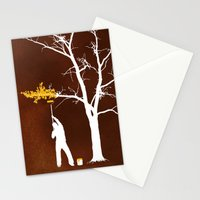 Relief Painting Stationery Cards