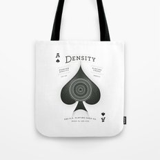Ace of Spades — Density Tote Bag